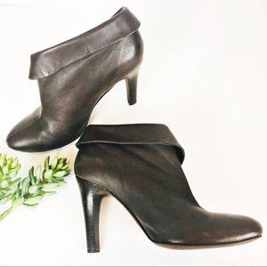 Michael Kors Brown Leather Booties 9M